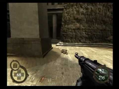 Return to Castle Wolfenstein (PS2) - 1-4 (Ancient Ruins)