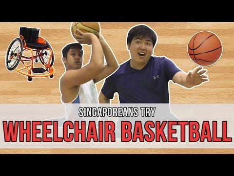 Singaporeans Try: Wheelchair Basketball | EP 99