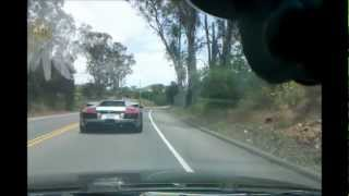 getlinkyoutube.com-Honda Accord VS Lamborghini Murcielago. EXOTIC CARs RACING, TOUGE FUN!!