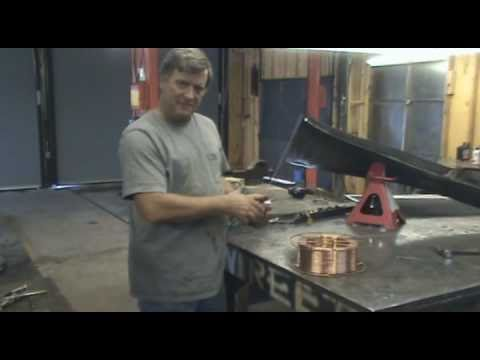 Making Welding Rods - Kevin Caron