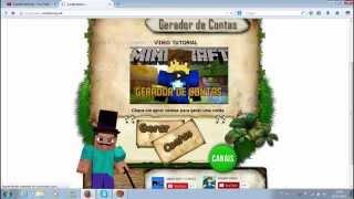 getlinkyoutube.com-Gerador de contas de Minecraft original!!! link da desc [funcionando]