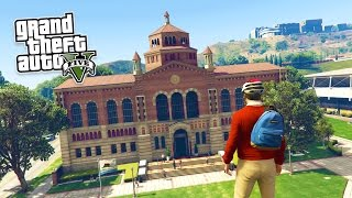 getlinkyoutube.com-GTA 5 PC Mods - REAL LIFE MOD #1! GTA 5 School & Jobs Roleplay Mod Gameplay! (GTA 5 Mod Gameplay)