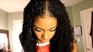 getlinkyoutube.com-How to│Blend Natural hair with Heat Free Clip Ins