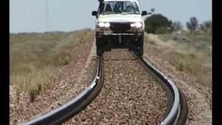 getlinkyoutube.com-Rding the rails in style   Nullarbor  Australia