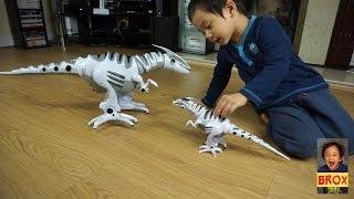 getlinkyoutube.com-Mini Roboraptor & Roboraptor Playtime!