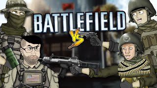 getlinkyoutube.com-Battlefield Friends Funny Moments - Obliteration Battle, Helicopter Headbutt, Elevator Killer!