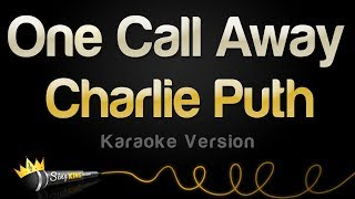 getlinkyoutube.com-Charlie Puth - One Call Away (Karaoke Version)