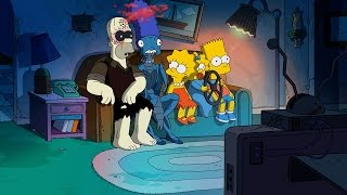 getlinkyoutube.com-Reverse It: The Simpsons - Treehouse of Horror XXIV - Guillermo del Toro Intro