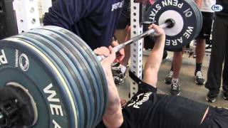 getlinkyoutube.com-Penn State Bench Press Workout