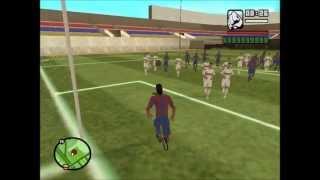 getlinkyoutube.com-GTA - El partido del Barcelona VS Real Madrid