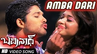 getlinkyoutube.com-Ambadari Full Video Song | Badrinath Movie | Allu Arjun, tamanna