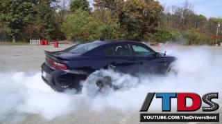 getlinkyoutube.com-2015 Dodge Charger SRT Hellcat Burnout