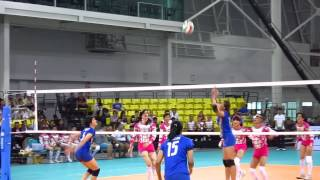 getlinkyoutube.com-Thai National Team Volleyball VS Iron Ladies 2014