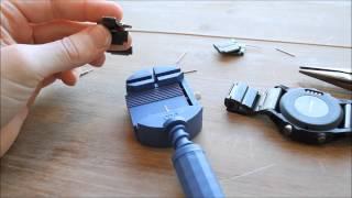 getlinkyoutube.com-Changing the Garmin Fenix3 Sapphire Edition length/links