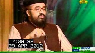 PTV Prgm Islam Aur Insan - Islam Aur Waswasa By Allama Shafaat Rasool On 29-4-12 Pt 1/4