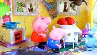 getlinkyoutube.com-Свинка Пеппа. Peppa Pig. Пеппа и Джордж в гостях у Бабы Яги. Мультфильм для детей
