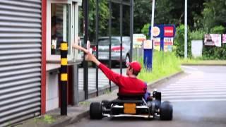 getlinkyoutube.com-Real Life Mario Kart