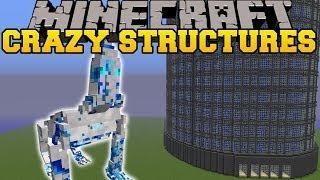 getlinkyoutube.com-Minecraft: CRAZY STRUCTURES (SKYSCRAPERS, CAVERNS, TREE HOUSES) Mod Showcase
