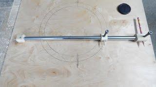 getlinkyoutube.com-Самодельный циркуль для больших радиусов.Homemade compass for large radii