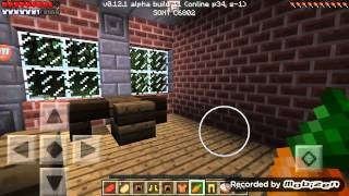 getlinkyoutube.com-Minecraft PE0.12.1飢餓伺服器生存