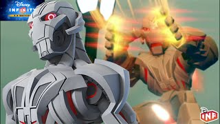 getlinkyoutube.com-Disney Infinity 3.0 Ultron vs Hulkbuster gameplay