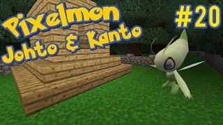 Celebi! - Pixelmon Johto and Kanto Minecraft Map Ep. 20
