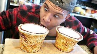 getlinkyoutube.com-DIY GIANT MARSHMALLOW SHOT GLASSES TASTE TEST!!