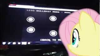 getlinkyoutube.com-MLP In Real Life - Fluttershy playing banned from equestria 1.4