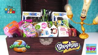 Simons Blind Bag Treasure Chest #43 Unboxing Slither.io MLP Shopkins Disney Cars | PSToyReviews