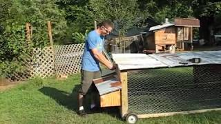 getlinkyoutube.com-DIY How to Build the BEST Chicken Tractor