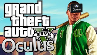 getlinkyoutube.com-GTA 5 With OCULUS RIFT ! First Person Gameplay on PC! (Grand Theft Auto V)