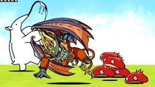 getlinkyoutube.com-ドラゴンポーカーコラボキャラ 猿王&レッドマローン紹介【にゃんこ大戦争】