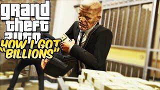 "GTA 5 ONLINE - HOW DID I GET ""BILLIONS"" OF GTA ONLINE DOLLARS! w/allstarzxd2k"