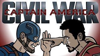 getlinkyoutube.com-Captain America Civil War Trailer Spoof - TOON SANDWICH