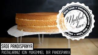 Sade Pandispanya Tarifi - Mutfak Sırları