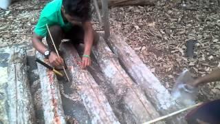 getlinkyoutube.com-การเพาะเห็ดขอนในขอนไม้