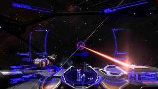 getlinkyoutube.com-Capital Ship Jumping in! Elite : Dangerous (Conflict zone)