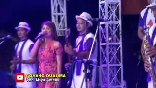 getlinkyoutube.com-Goyang Dualima -  Maya Amelia - Nunung Alvi Live Lajer