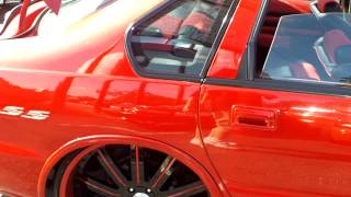getlinkyoutube.com-Hot Red Impala SS Tucking Asanti's