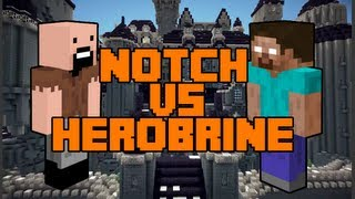 getlinkyoutube.com-Minecraft: Notch vs. Herobrine