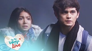 On The Wings Of Love: Clark saves Leah