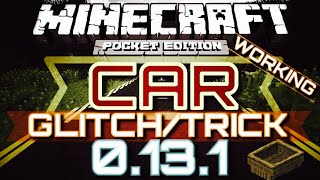 getlinkyoutube.com-✔️BEST CAR GLITCH TRICK IN MCPE {MCPE 0.13.1} | You can steer it, park it, and pick speeds