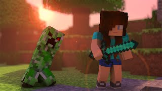 getlinkyoutube.com-Minecraft Song ♫ CREEPER a Minecraft Parody (Minecraft Animation)