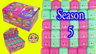 getlinkyoutube.com-Shopkins Season 5 Mystery Surprise Petkins Blind Bag Full Box Unboxing - Cookieswirlc Video