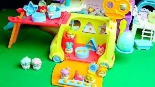 getlinkyoutube.com-ヒミツのここたま くるまのにぎやかショップ おもちゃアニメ バンダイ 新商品