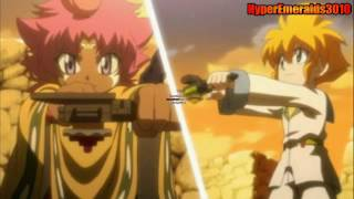 getlinkyoutube.com-HD Beyblade AMV: Death Quetzalcoatl vs Flame Libra