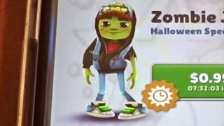 getlinkyoutube.com-Unlocking Zombie Jake on Subway Surfers!