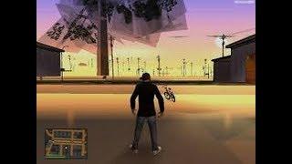 حل مشكلة اختفاء المباني والطرق في لعبة gta san andreas