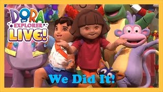 getlinkyoutube.com-We Did It | Dora The Explorer Live! (2013)