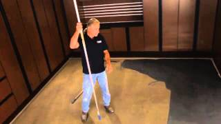 getlinkyoutube.com-Lava Flow® Decorative Metallic Epoxy Flooring & Coating Installation Video